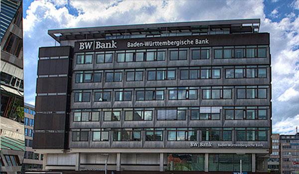 DATAGROUP Referenz BW-Bank, Gebäude von außen