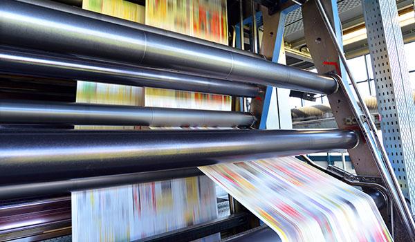 Druckerei Maschine