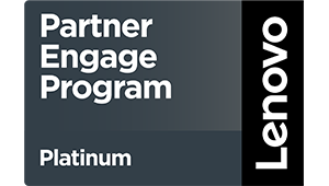 Logo Lenovo Partner Engage Program - DATAGROUP Partner