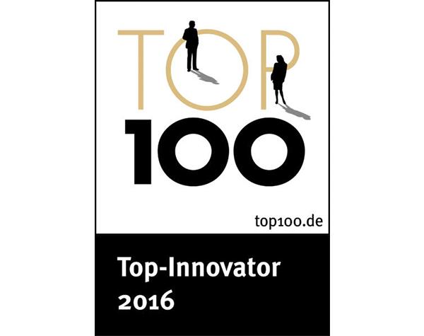 DATAGROUP erhält Top 100 Innovator Preis 2016.