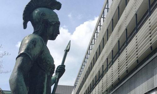 Max-Planck-Statue, IT-Dienstleister DATAGROUP