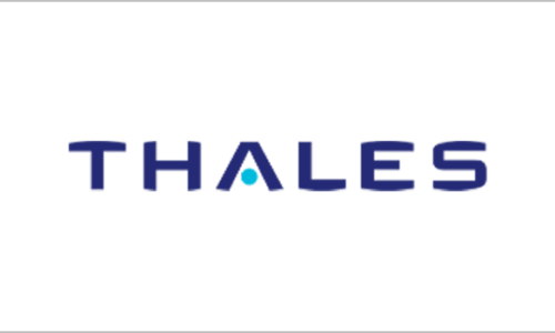 IT-Outsourcer DATAGROUP Referenz Thales , Logo