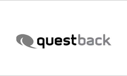 IT-Outsourcer DATAGROUP Referenz questback, Logo