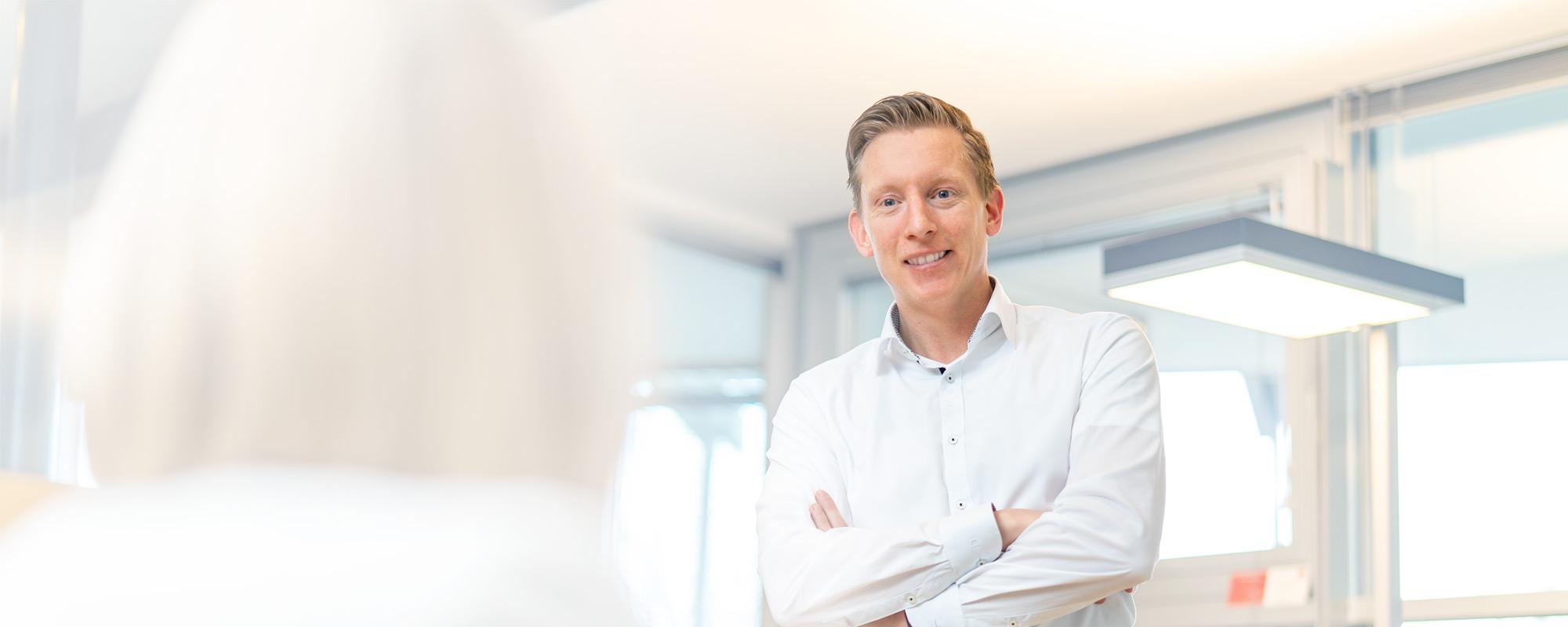 Marcus Schäfer, Servicemanager