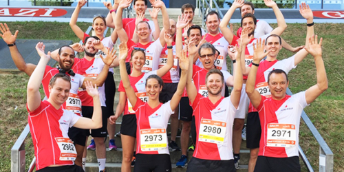 DATAGROUP Läufer beim B2Run Stuttgart