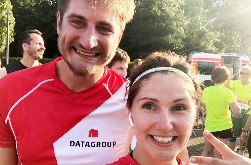 Die DATAGROUP Läufer im Ziel