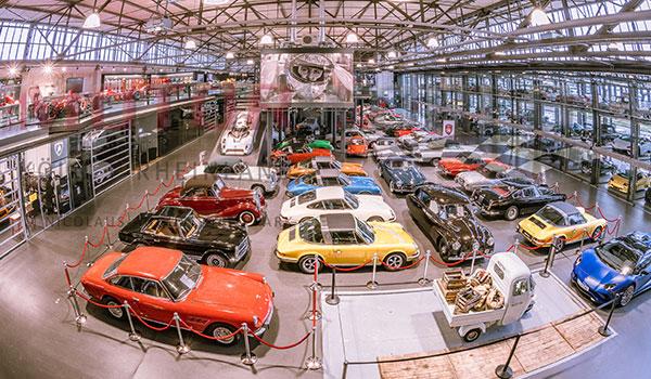 Messe Köln mit Autos