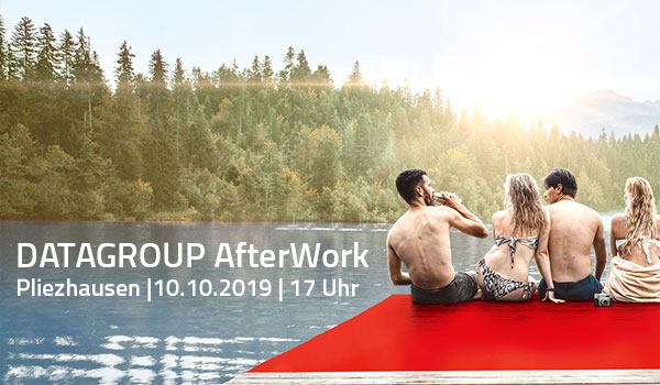 DATAGROUP Afterwork am 10.10.2019 um 17 Uhr