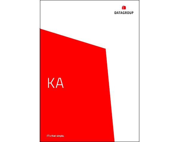 DATAGROUP Konzernanhang Cover