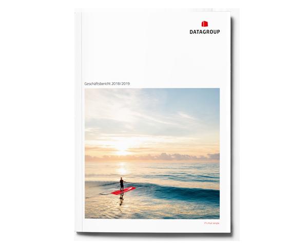 DATAGROUP Geschäftsbericht 2018/2019 Cover