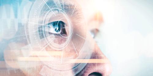 Futuristisches Auge