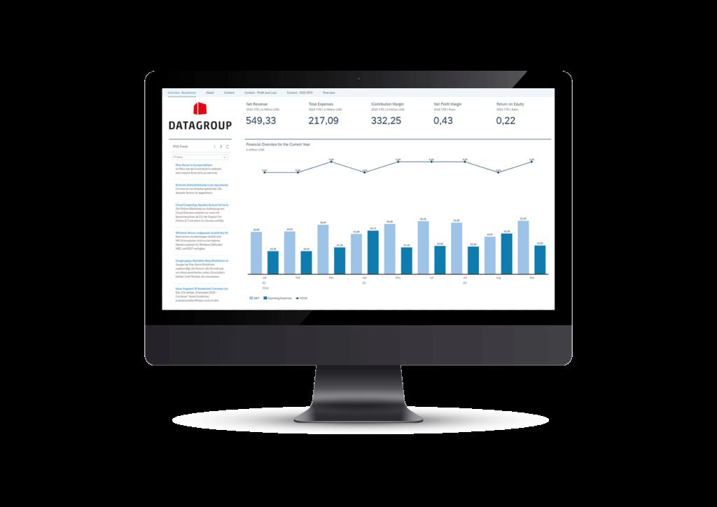 SAP Analytics Screenshot