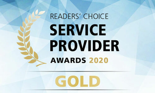 Award Gold Service Provider Summit