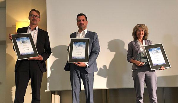 Links: Nils Wulf, Geschäftsführer DATAGROUP in Frankfurt