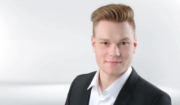 Porträt Dualer Student Marcel Reznikov